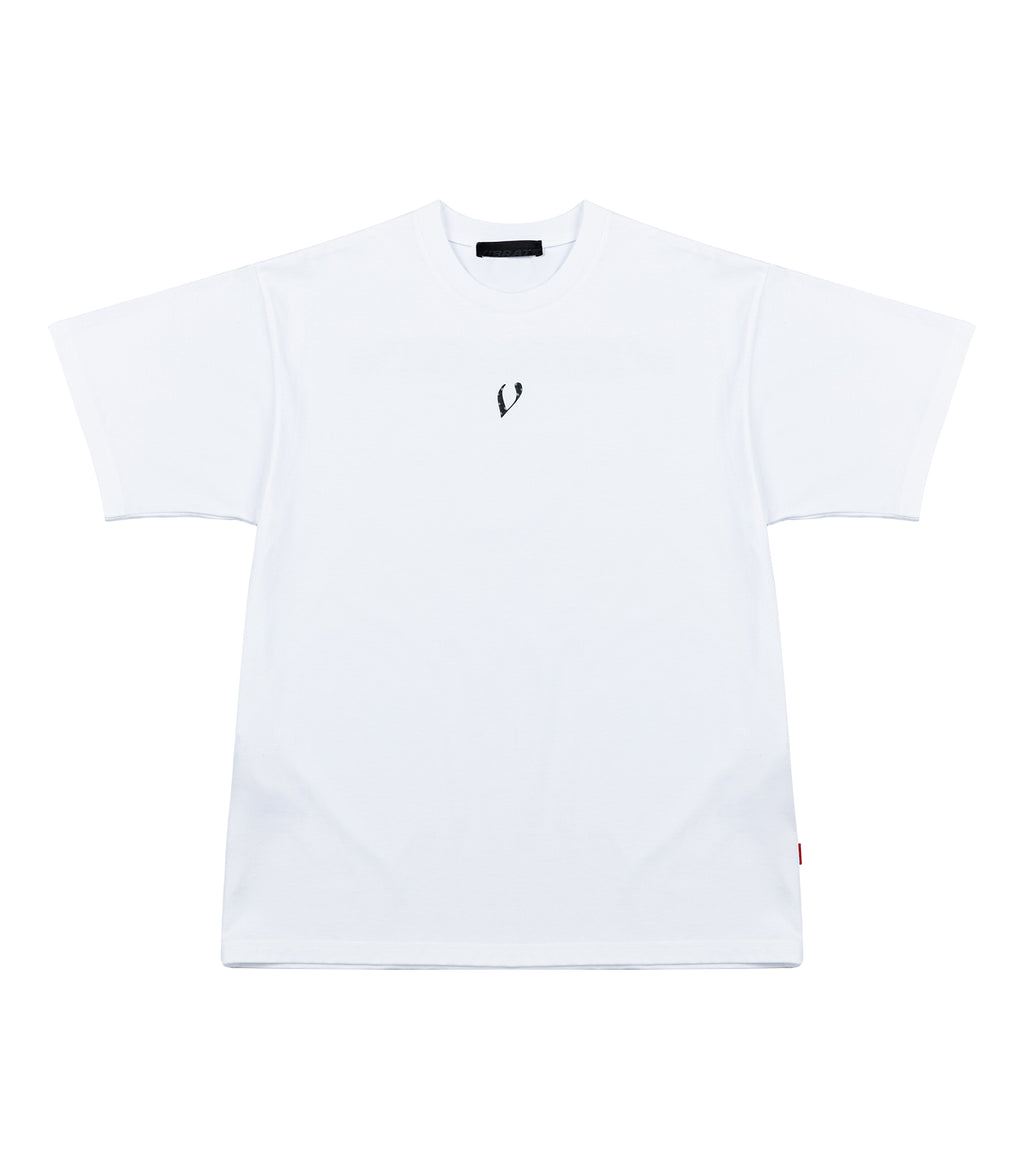 VフラッシュM003Tシャツ / V FLASH M003 T-SHIRT (WHITE)