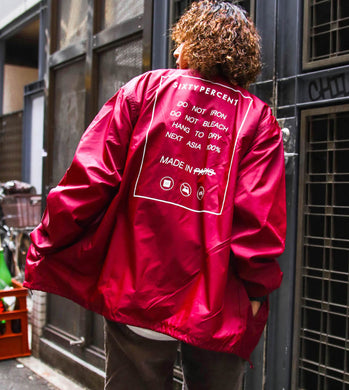 Coach Jacket - SIXTY PERCENT