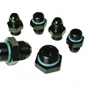 A4 Regulator Fitting Kit (for two (2) carbs) (4) AN-06, (1) AN-10, (1) AN-10 Plug.