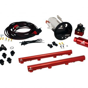 System, 07-12 Shelby GT500, 18682 A1000, 14116 4.6L 3V Rails, 16307 Wire Kit & Misc. Fittings.