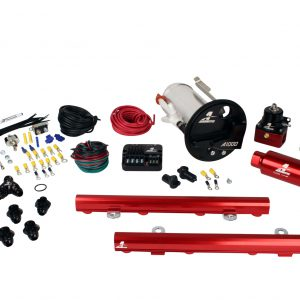 System, 07-12 Shelby GT500, 18682 A1000, 14130 5.0L 4V Rails, 16306 PSC & Misc. Fittings.