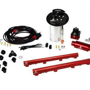 System, 10-13 Mustang GT, 18694 A1000, 14116 4.6L 3V Rails, 16307 Wire Kit & Misc. Fittings.