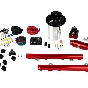 System, 10-13 Mustang GT, 18695 Elim, 14130 5.0L 4V Rails, 16306 PSC & Misc. Fittings.