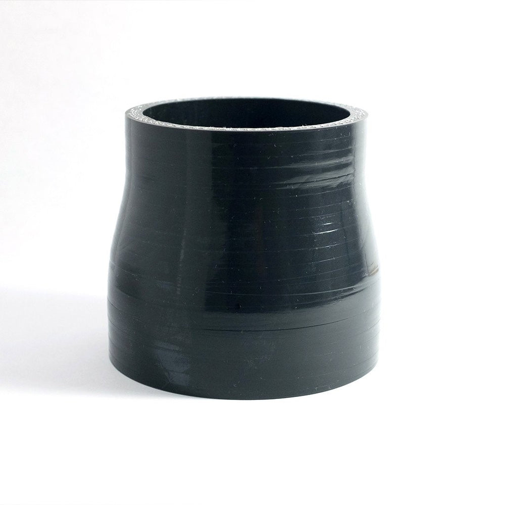 "3.5"" to 4"" High Temp 4-Ply Reinforced Straight Silicone Reducer"