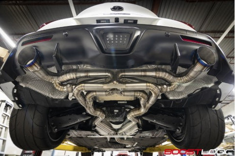 BOOST LOGIC MKV SUPRA TITANIUM EXHAUST with valves