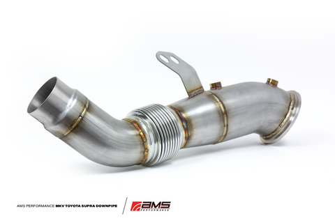 AMS Performance MKV Toyota Supra Stainless Steel Race Downpipe