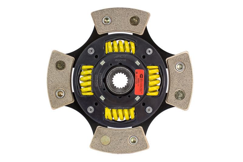 Advanced Clutch 4 Pad Sprung Race Disc Clutch Friction Disc