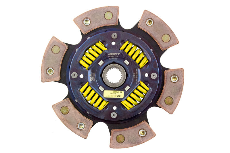 Advanced Clutch 6 Pad Sprung Race Disc Clutch Friction Disc