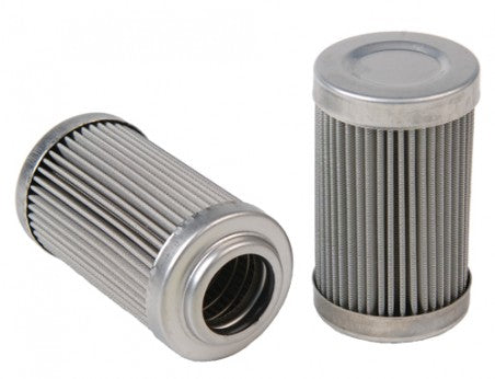 Replacement Element, 40-m Stainless Mesh, for 12335/12343 Filter Assembly, Fits All 2in OD Filter Hou