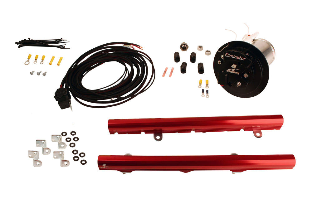 System,? 10-11 Camaro, 18674 Elim, 14115 LS3 Rails, 16307 Wire Kit & Misc. Fittings.