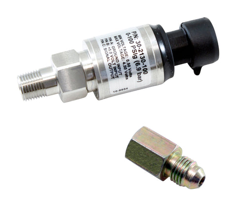 100 PSIg Stainless Sensor Kit, Stainless Steel Sensor Body, 1/8-inch NPT Male Thread, Includes 100 P