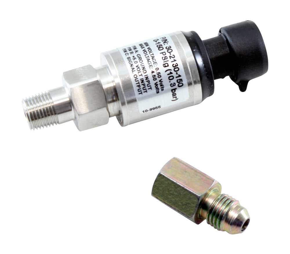 150 PSIg Stainless Sensor Kit, Stainless Steel Sensor Body, 1/8-inch NPT Male Thread, Includes 150 P