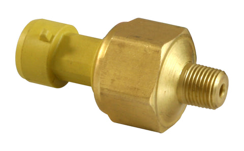 100 PSIg Brass Sensor Kit, Brass Sensor Body, 1/8-inch NPT Male Thread, Includes 100 PSIg Brass Sens