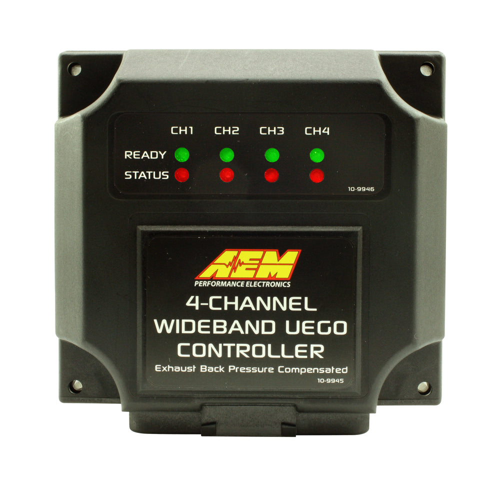 4-Channel Wideband UEGO Air/Fuel Ratio Controller, Allows for Individual Cylinder AFR Readings, Expa