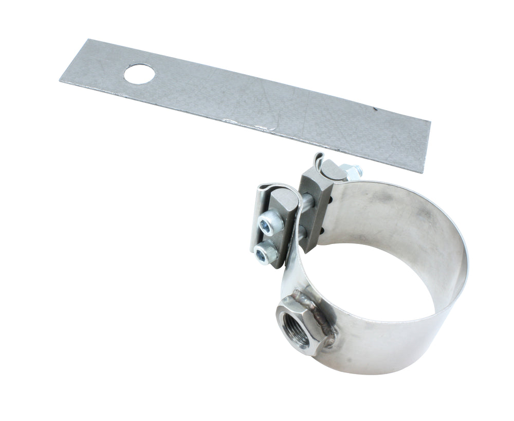 3-inch No-Weld O2 Sensor Mount, Allows Users to Install O2 Sensor(s) Without Welding a Bung to Exhau
