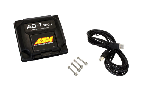 AQ-1 OBDII CAN Data Logging System, Reads OBD CANbus on 2008-Up Vehicles and Includes 12 inputs, Fou