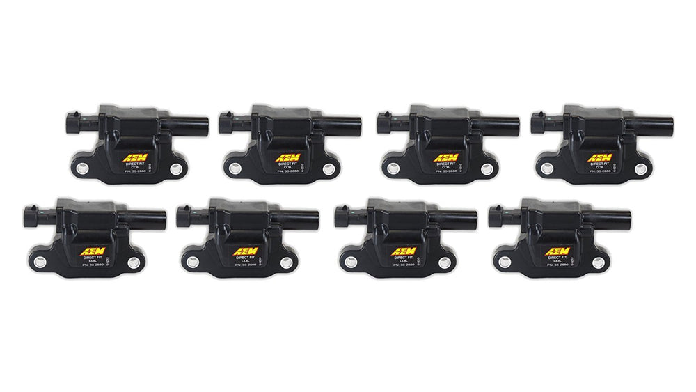 GM 2005-2015 All Engines LS2/3/4/7/9, Direct fit performance ignition coil (8-Pack)