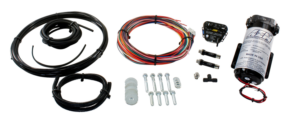 V2 Water/Methanol Nozzle and Controller Kit, HD Diesel Controller - Internal MAP with 40psi max, 200