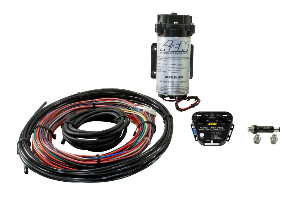 V2 Water/Methanol Nozzle and Controller Kit, Multi Input Controller - 0-5v/MAF Frequency or Voltage/