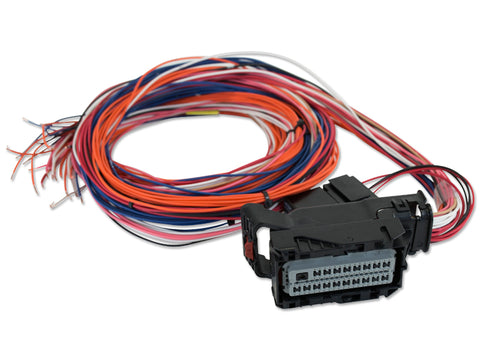 Infinity Mini-Harness for PNs 30-7113, 30-7114, Pre-wired power, grounds, power relay, AEMnet. 40 sm
