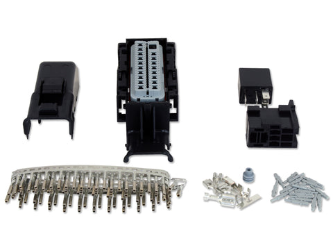 Infinity  Plug and Pin Kit for PNs 30-7113, 30-7114, Includes 73 pin connector with cover, 80 small