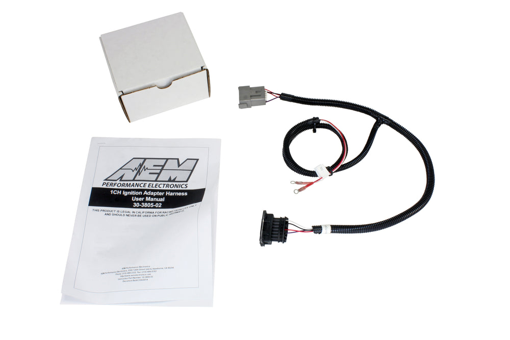 Infinity Core Accessory Wiring Harness, for Single Channel Ignition Coil Driver PN 30-2841