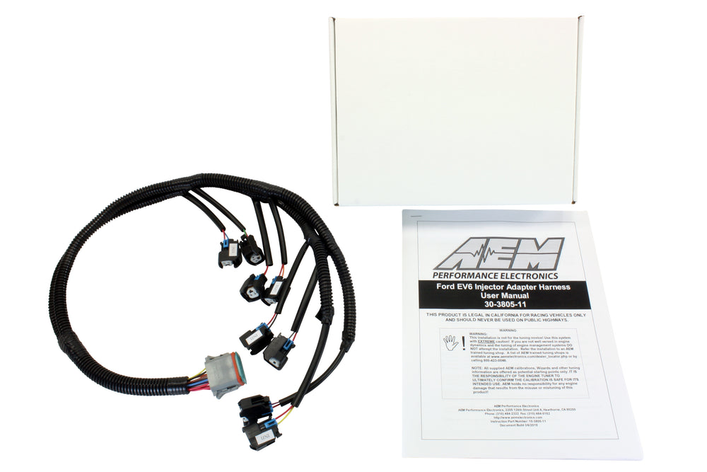 Infinity Core Accessory Wiring Harness for Ford Injector Adapter EV6 connectors