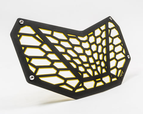 Premium Grill Can-Am Maverick X3, Black and Yellow
