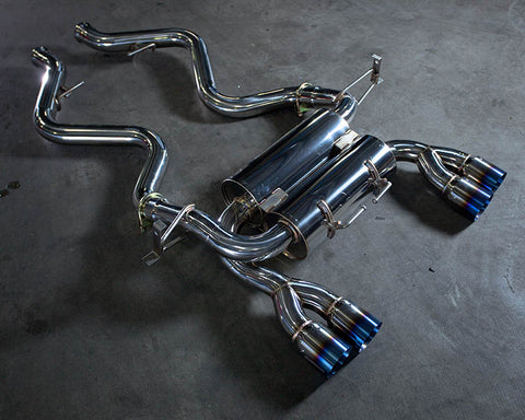Exhaust System withTitanium Tips BMW M3 Coupe E92 08-13