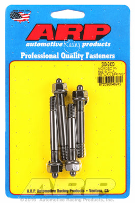 1˝ spacer with Moroso #64919 return spring kit Carb Stud Kit 2.700 (2) & 3.050 (2)in OAL