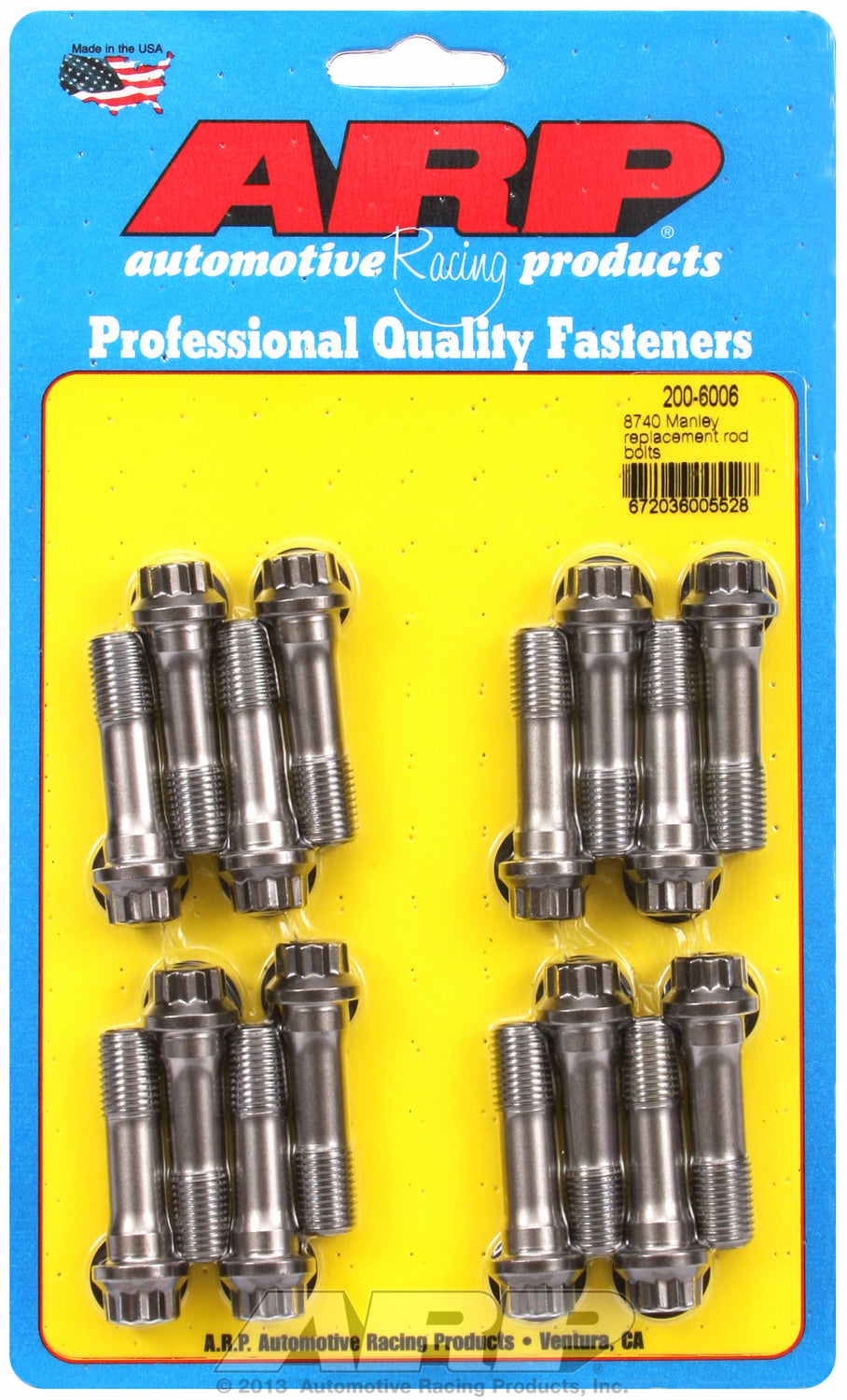 8740 General Replacement Rod Bolt Kit Complete Manley Replacement