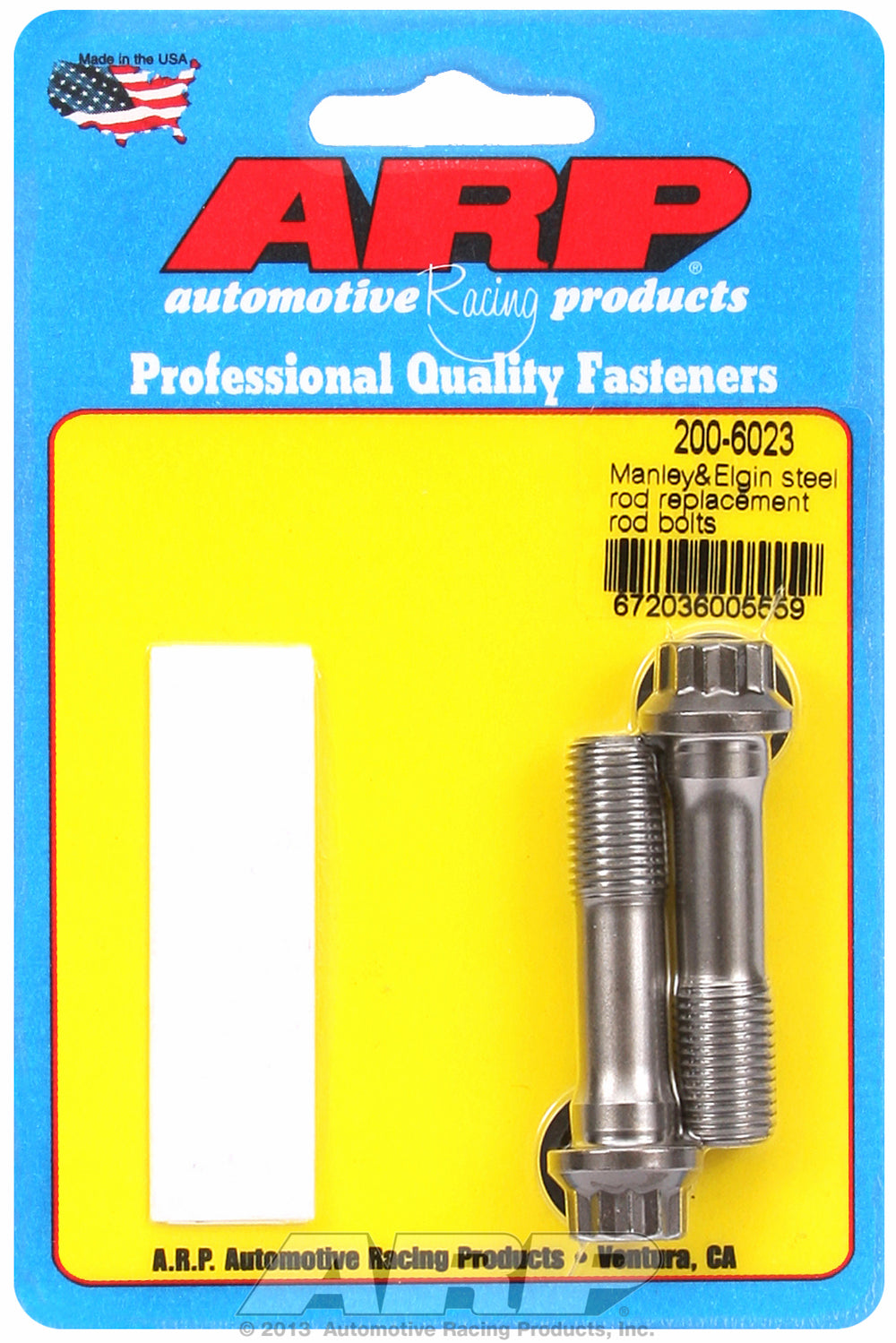 8740 General Replacement Rod Bolt Kit 2-pc Manley Replacement