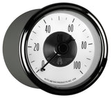 GAUGE, OIL PRESS, 2 1/16in, 100PSI, MECH, PRESTIGE PEARL