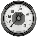 GAUGE, WATER TEMP, 2 1/16in, 240?F, MECH, PRESTIGE PEARL