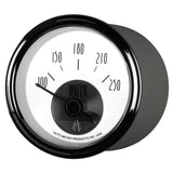 GAUGE, WATER TEMP, 2 1/16in, 250?F, ELEC, PRESTIGE PEARL