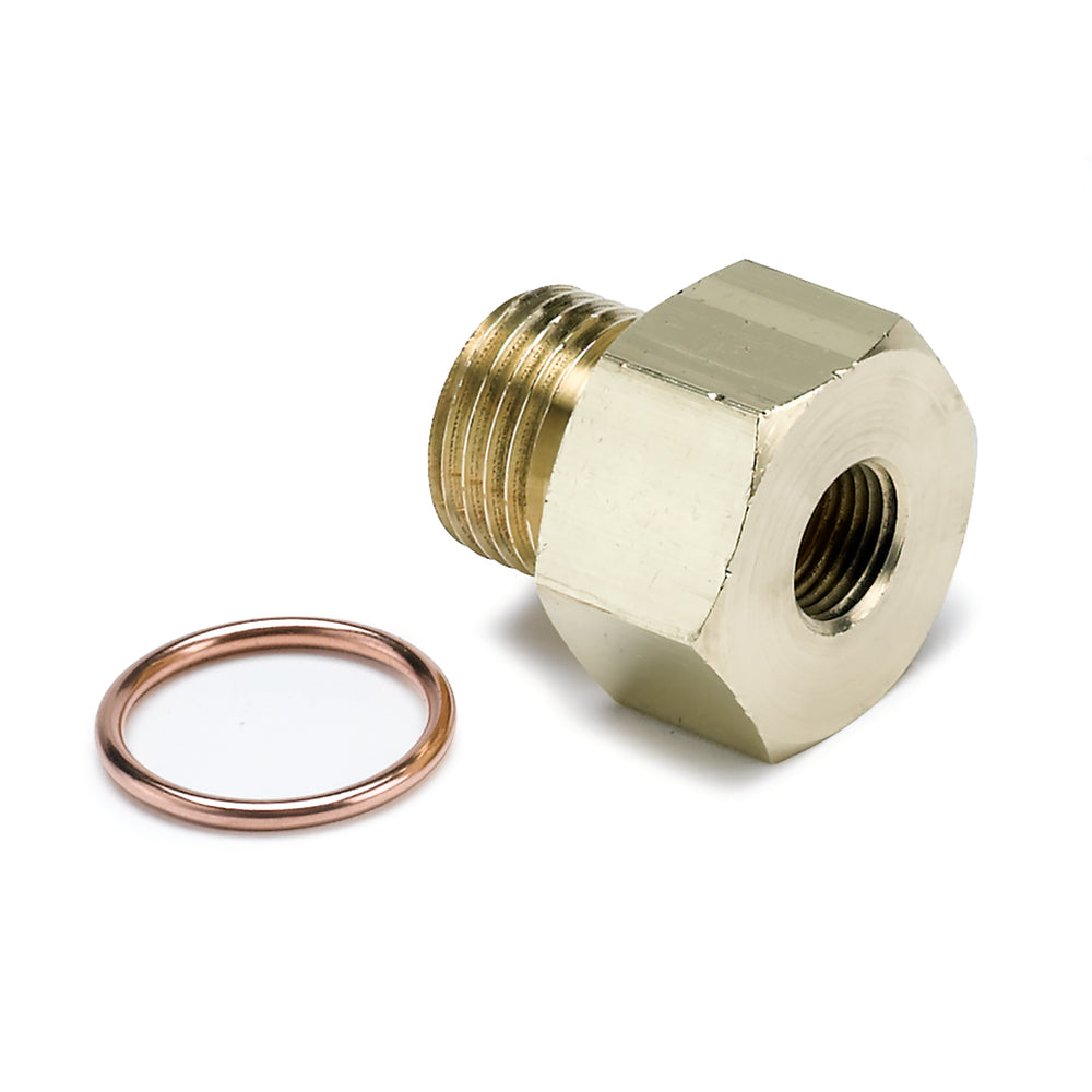 FITTING, ADAPTER, METRIC, M16X1.5 MALE TO 1/8in NPTF FEMALE, BRASS