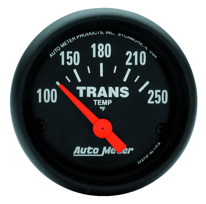 GAUGE, TRANSMISSION TEMP, 2 1/16in, 100-250?F, ELECTRIC, Z-SERIES