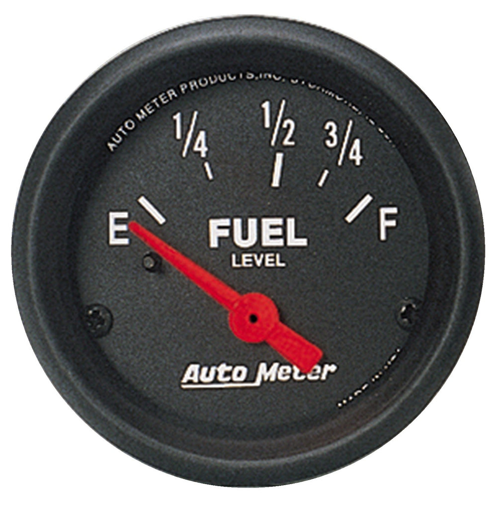 GAUGE, FUEL LEVEL, 2 1/16in, 0OE TO 90OF, ELEC, Z-SERIES