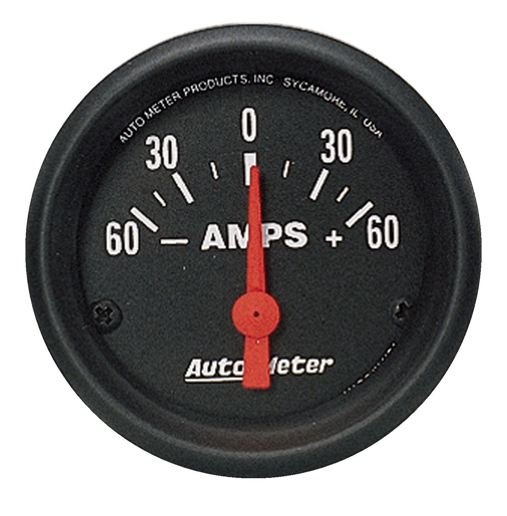 GAUGE, AMMETER, 2 1/16in, 60A, ELECTRIC, Z-SERIES