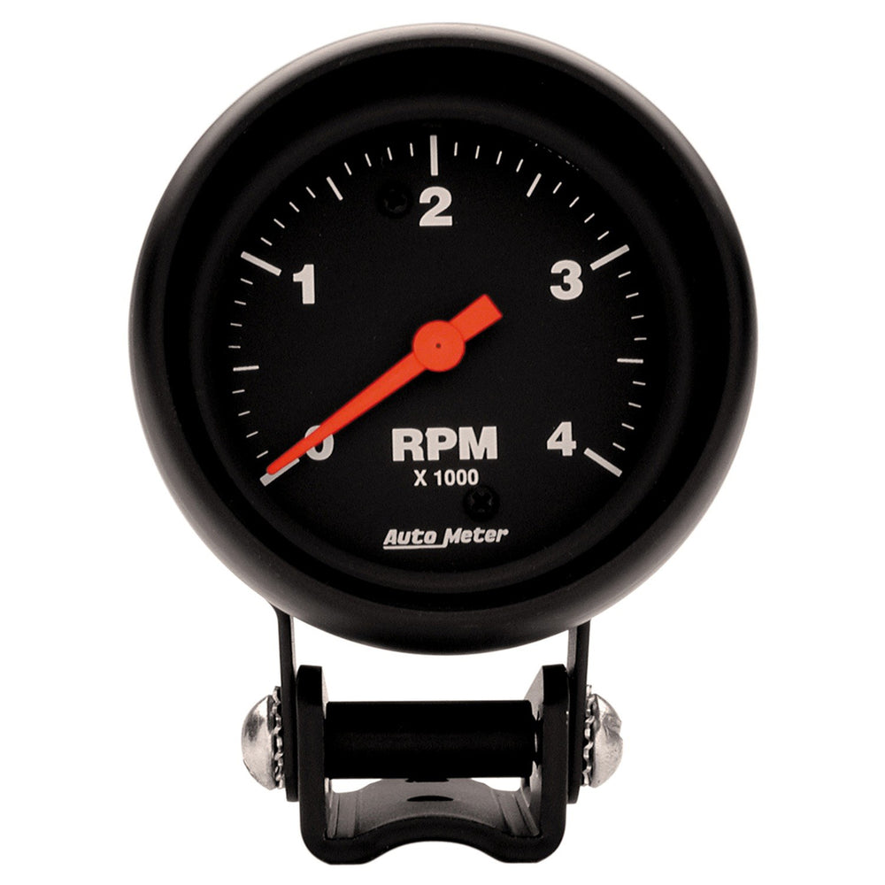 GAUGE, TACHOMETER, 2 5/8in, 4K RPM, PEDESTAL, Z-SERIES