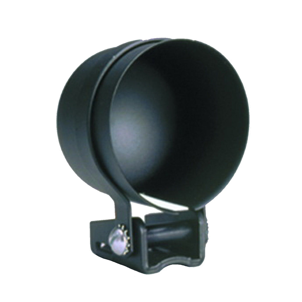 GAUGE MOUNT, 2 5/8in, PEDESTAL W/ BLACK CUP, FOR ELEC. GAUGE