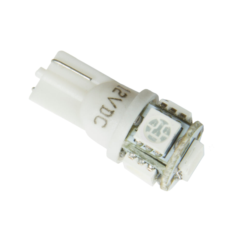 LED BULB, REPLACEMENT, T3 WEDGE, WHITE