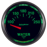 GAUGE, WATER TEMP, 2 1/16in, 100-250?F, ELECTRIC, GS