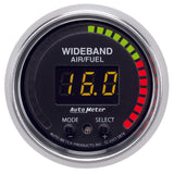 GAUGE, AIR/FUEL RATIO-PRO, 2 1/16in, 10:1-20:1, DIGITAL W/ PEAK & WARN, GS