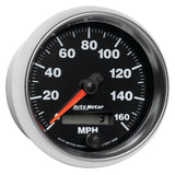 GAUGE, SPEEDOMETER, 3 3/8in, 160MPH, ELEC. PROGRAMMABLE, GS