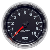 GAUGE, TACHOMETER, 3 3/8in, 10K RPM, IN-DASH, GS