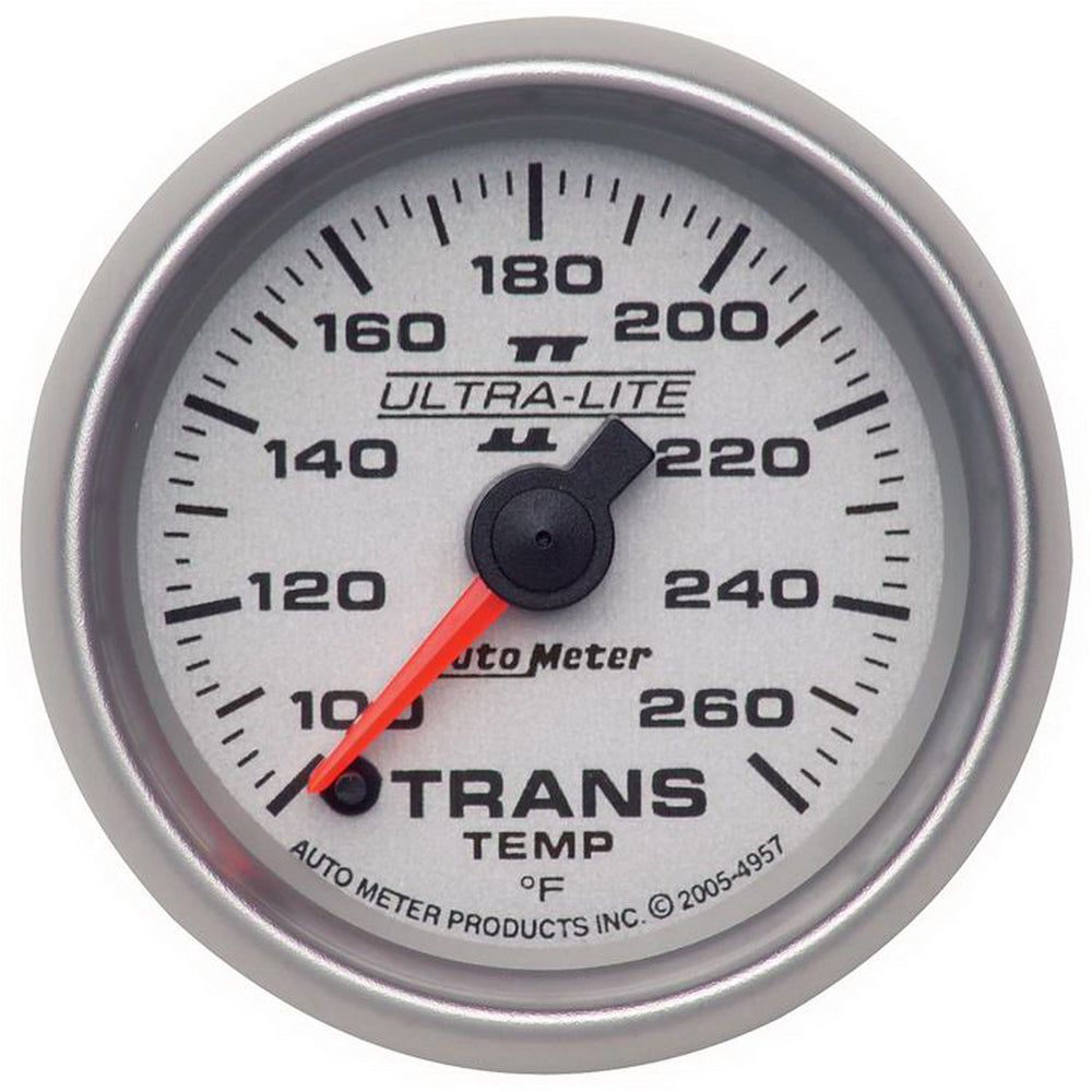 GAUGE, TRANSMISSION TEMP, 2 1/16in, 100-260?F, DIGITAL STEPPER MTR, ULTRA-LITE II