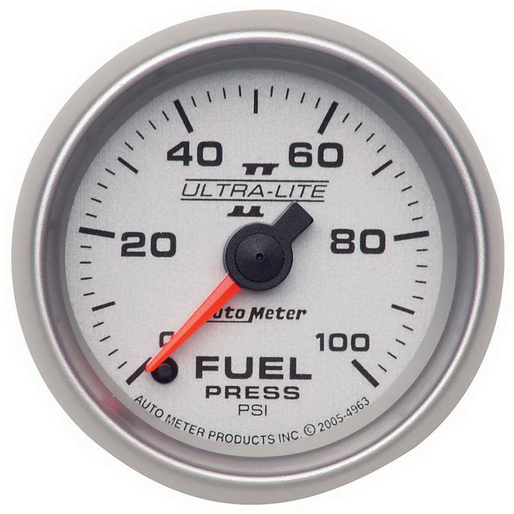 GAUGE, FUEL PRESSURE, 2 1/16in, 100PSI, DIGITAL STEPPER MOTOR, ULTRA-LITE II