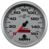 GAUGE, SPEEDOMETER, 5in, 160MPH, ELEC. PROGRAMMABLE, ULTRA-LITE II