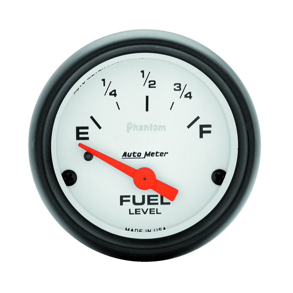 GAUGE, FUEL LEVEL, 2 1/16in, 0OE TO 90OF, ELEC, PHANTOM